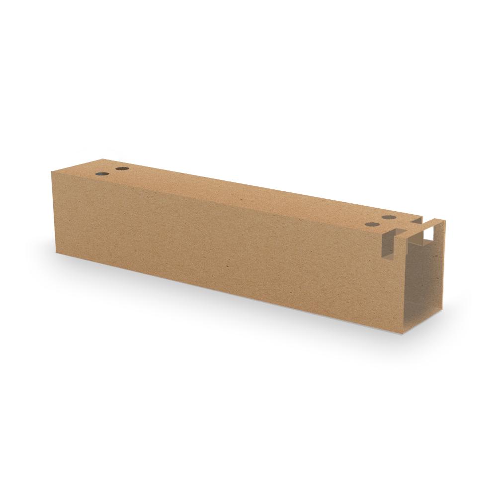 Embalagem para Churros Externo Gourmet - KRAFT - 100 unidades  - 24 PRINT EMBALAGENS