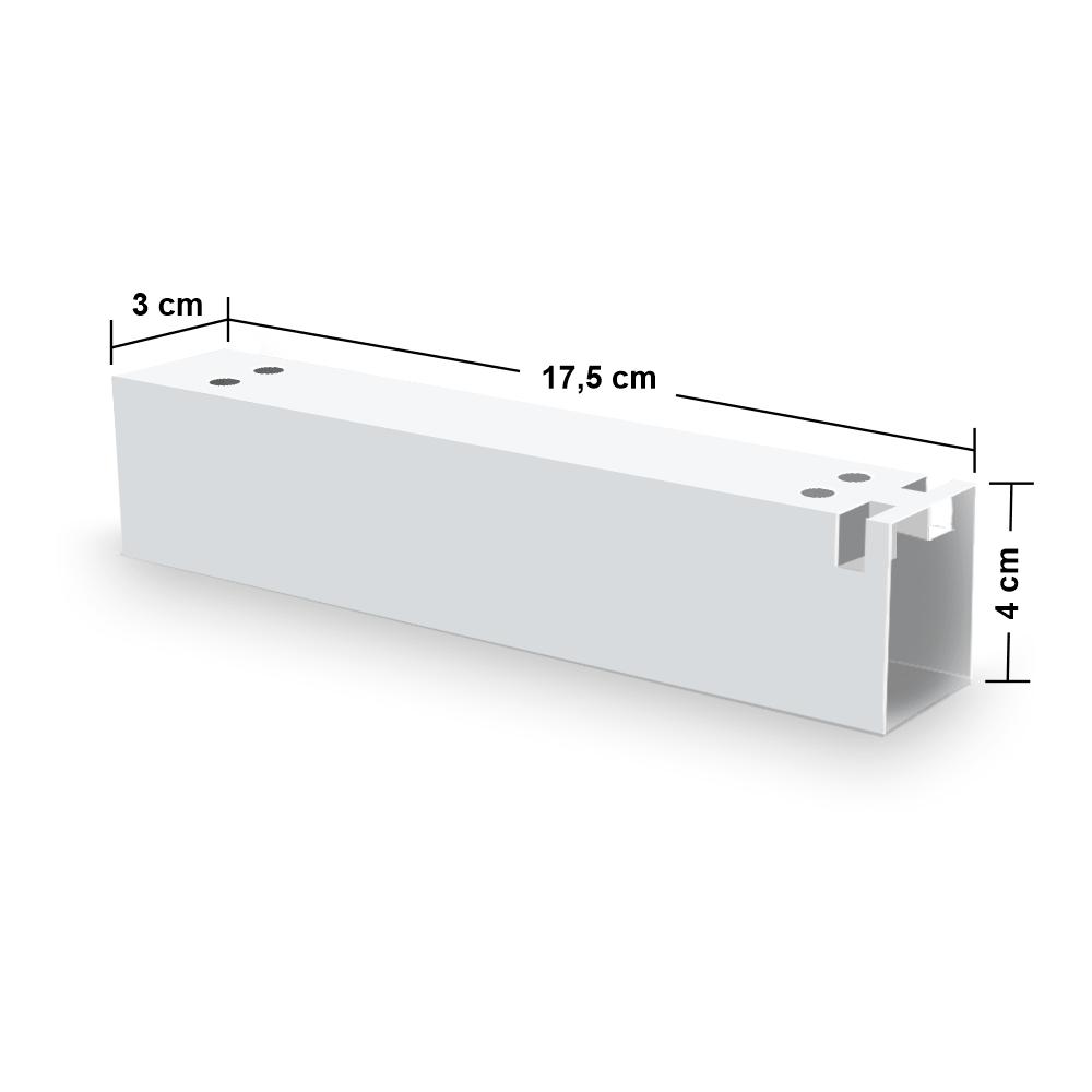 Embalagem para Churros Externo Gourmet - WHITE - 100 unidades  - 24 PRINT EMBALAGENS