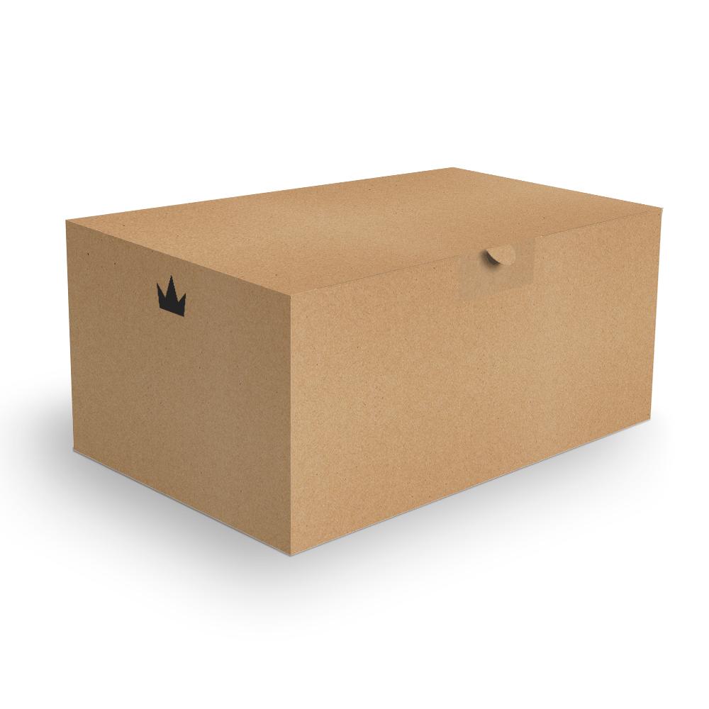 Embalagem para Combos Delivery - KRAFT - 100 unidades  - 24 PRINT EMBALAGENS