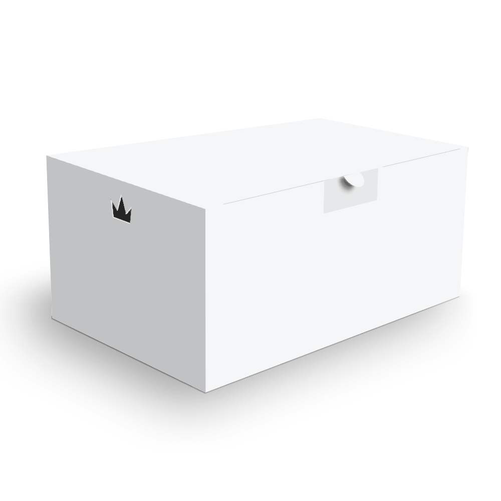 Embalagem para Combos Delivery - WHITE - 100 unidades  - 24 PRINT EMBALAGENS