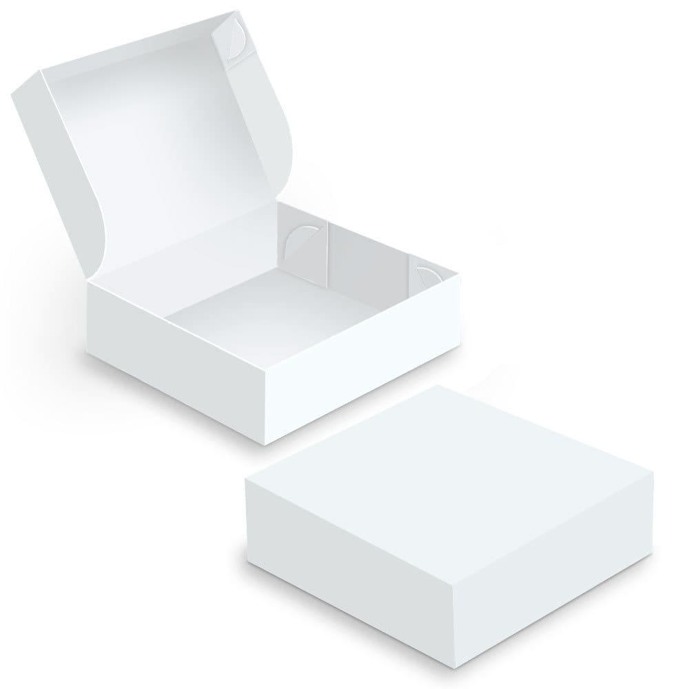 Embalagem para Doces e Salgados Grande - WHITE - 100 unidades  - 24 PRINT EMBALAGENS