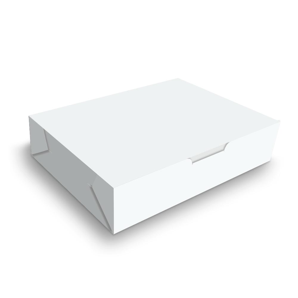 Embalagem para Doces e Salgados Pequena - WHITE - 100 unidades  - 24 PRINT EMBALAGENS