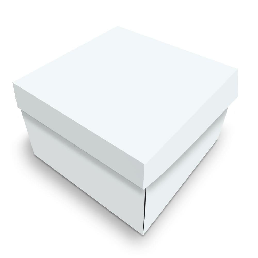Embalagem para Donuts - 1 unidade - WHITE - 100 unidades  - 24 PRINT EMBALAGENS