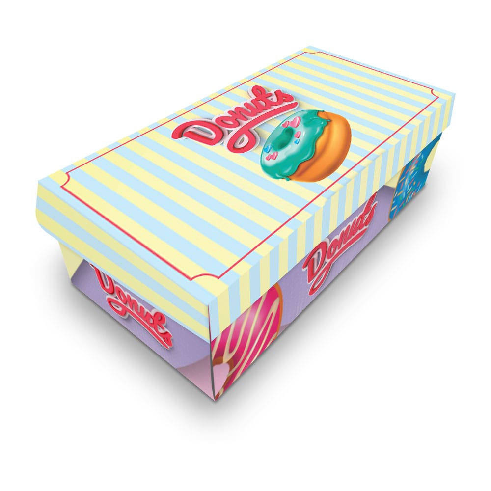 Embalagem para Donuts - 2 unidades - COLOR - 100 unidades  - 24 PRINT EMBALAGENS
