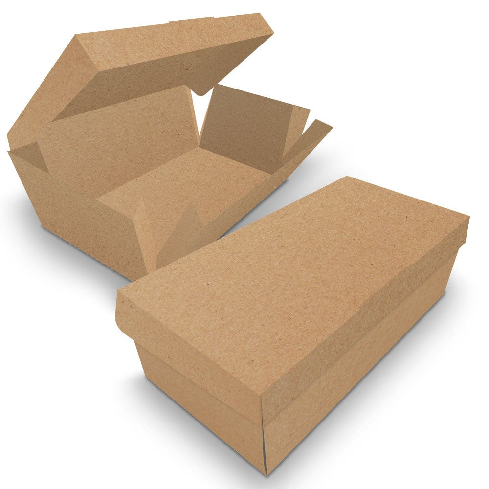 Embalagem para Donuts - 2 unidades - KRAFT - 100 unidades  - 24 PRINT EMBALAGENS