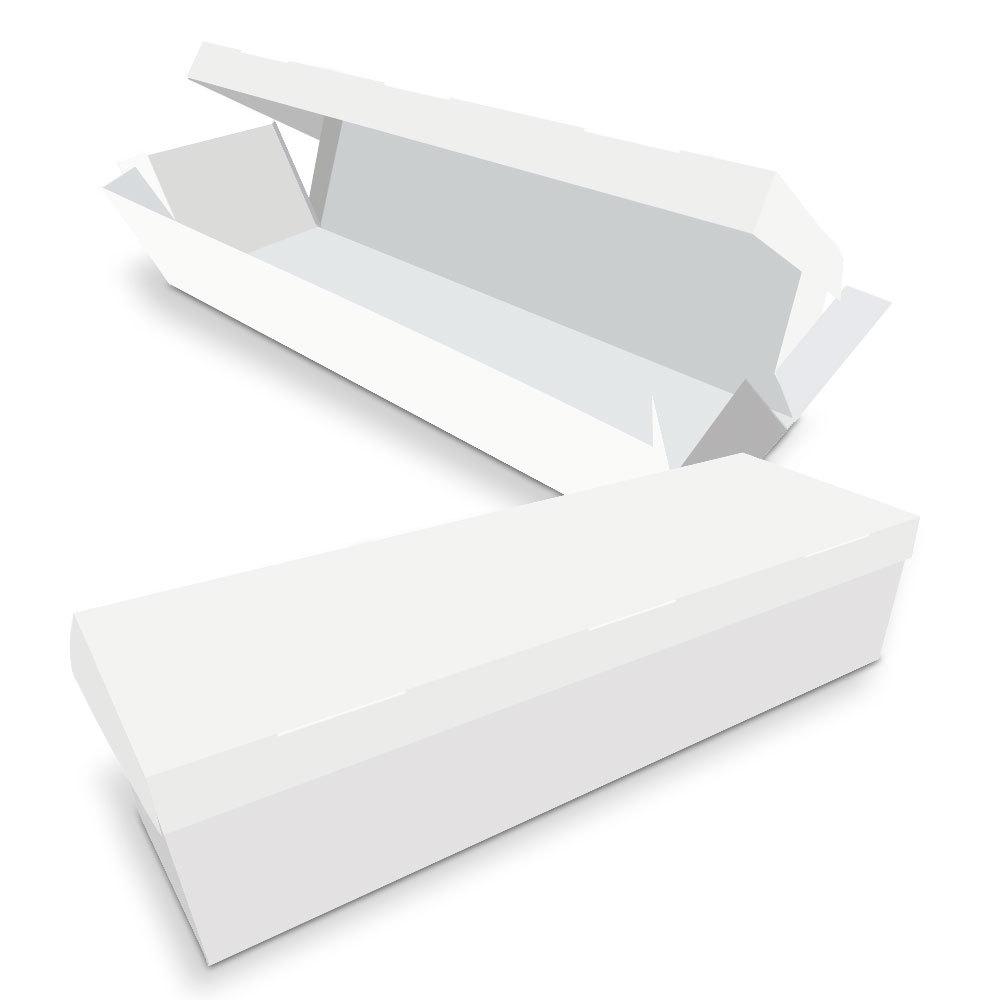 Embalagem para Donuts - 3 unidades - WHITE - 100 unidades  - 24 PRINT EMBALAGENS
