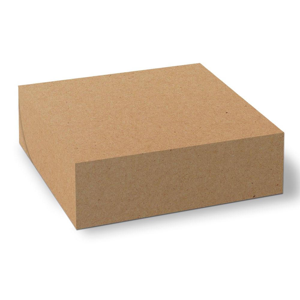 Embalagem para Donuts (Com Divisórias) - 4 unidades - KRAFT - 100 unidades  - 24 PRINT EMBALAGENS