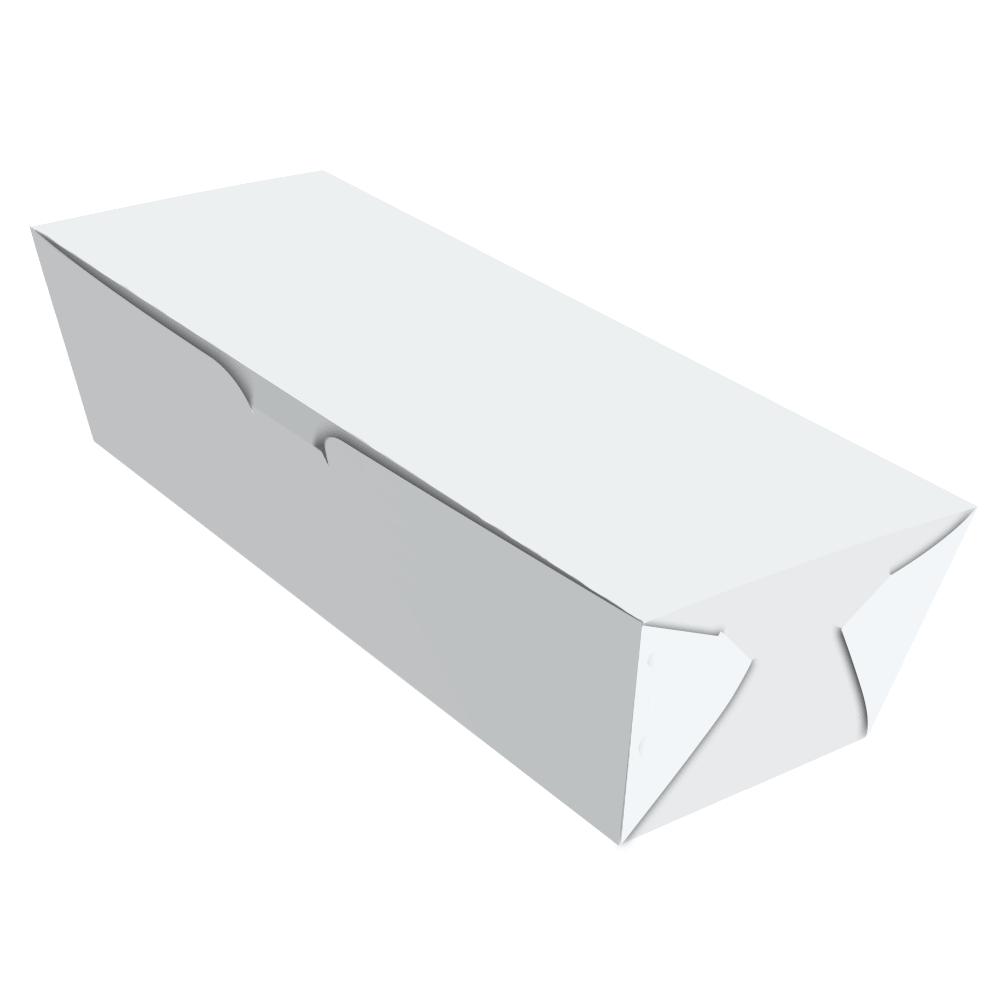 Embalagem para Hot Dog Delivery - Médio - WHITE - 100 unidades  - 24 PRINT EMBALAGENS