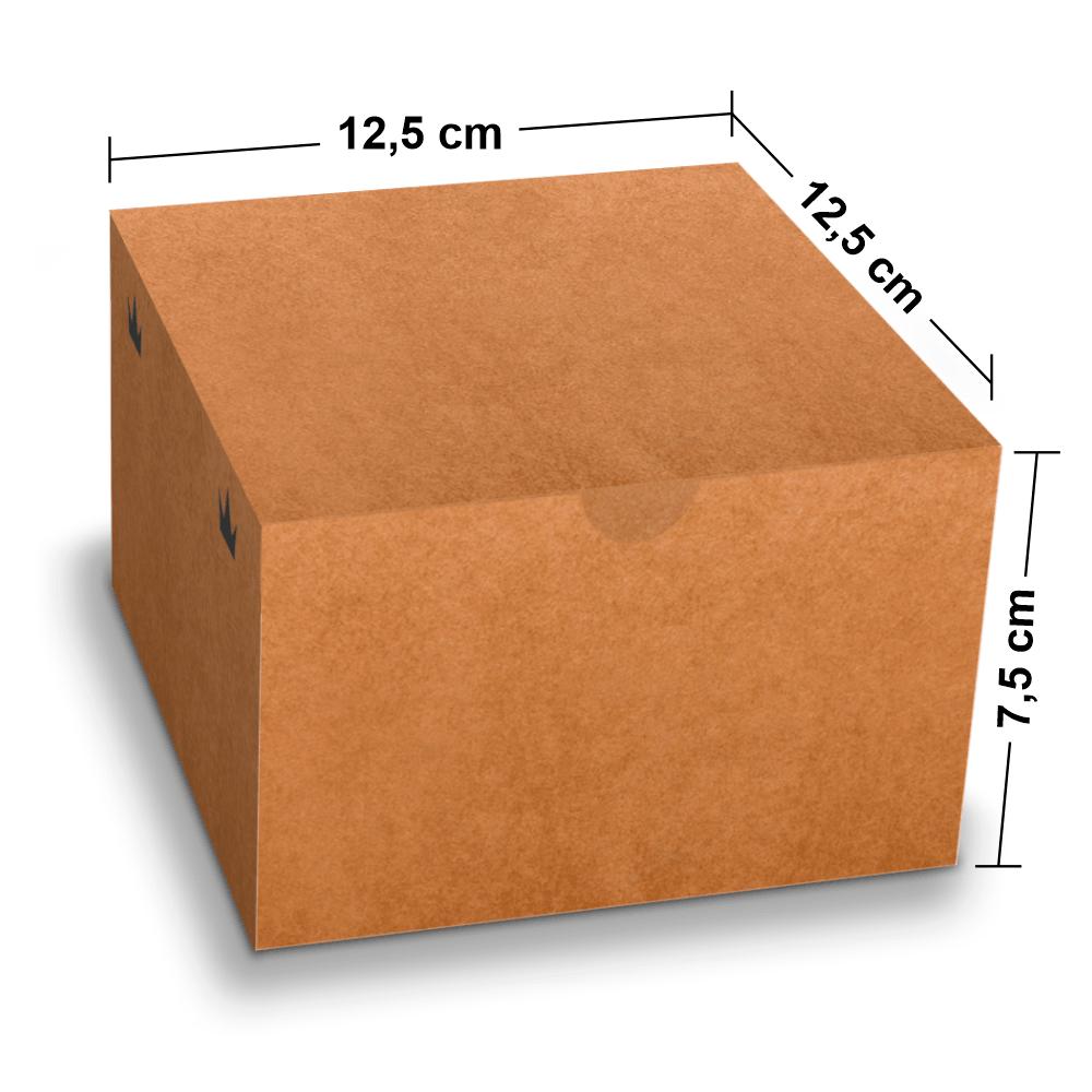 Embalagem para Lanches ou Hambúrguer - KRAFT - 100 unidades - G  - 24 PRINT EMBALAGENS