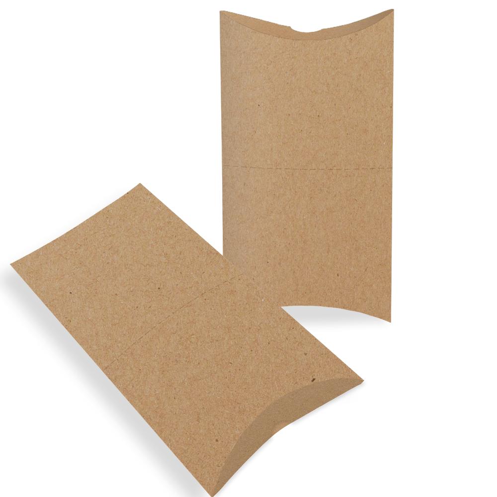 Embalagem para Pastel Delivery - KRAFT - 100 unidades  - 24 PRINT EMBALAGENS