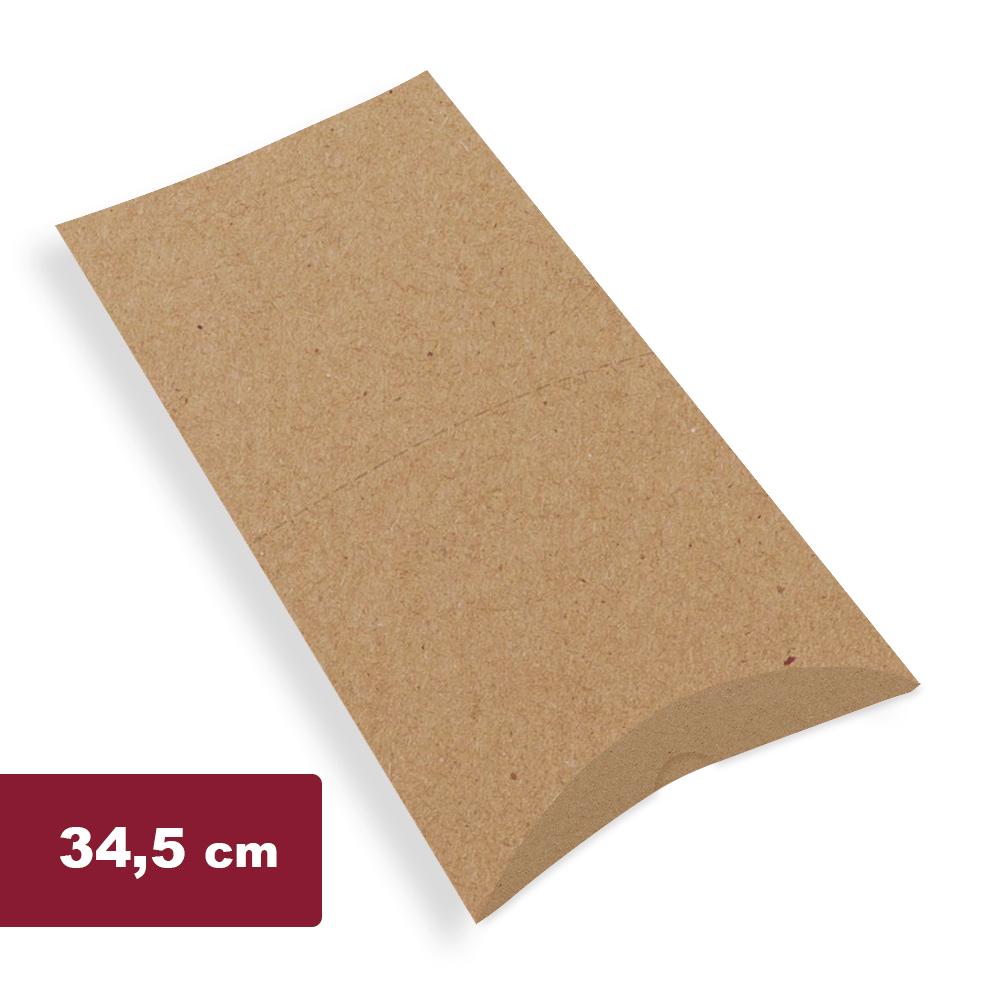 Embalagem para Pastel Delivery Grande - KRAFT - 100 unidades  - 24 PRINT EMBALAGENS