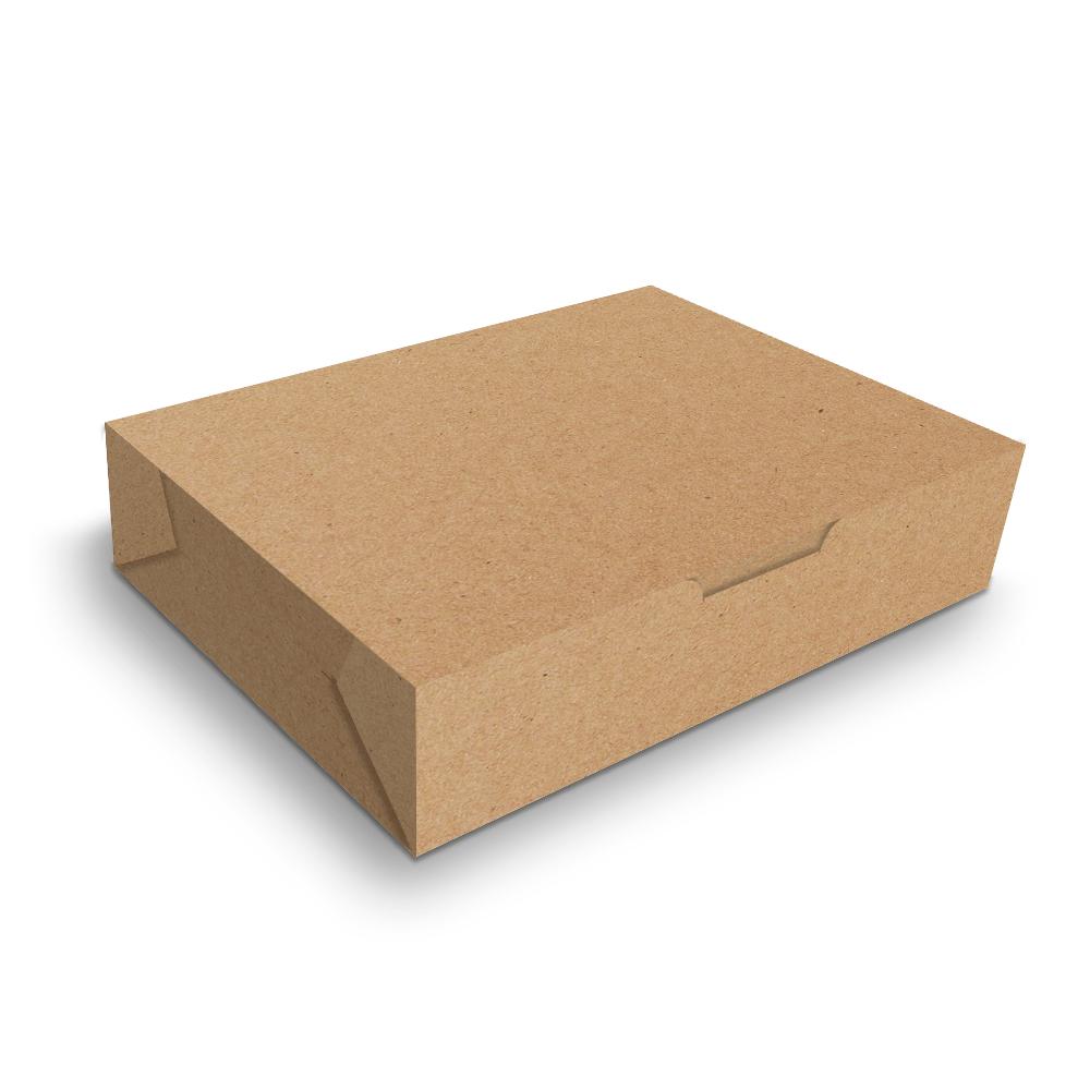 Embalagem para Sushi e Combinados - KRAFT - 100 unidades  - 24 PRINT EMBALAGENS