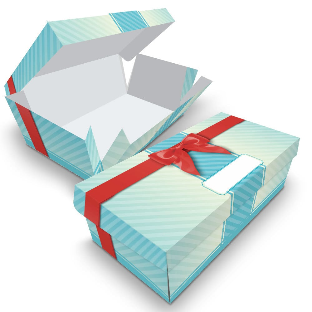 Embalagem Surpresa - 2 unidades - Azul - 100 unidades  - 24 PRINT EMBALAGENS