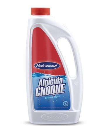 Algicida Choque Hidroazul 1 Litro