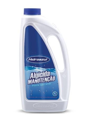 Algicida Manutenção Hidroazul 1 Litro