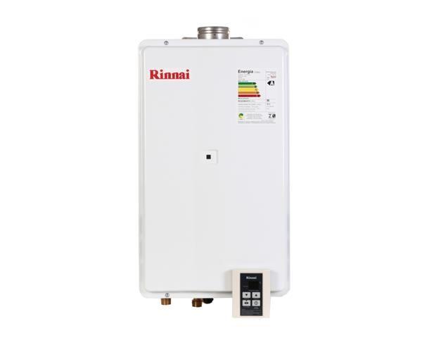 Aquecedor de Água a Gás GLP 35L REU 2802 FEC Digital Rinnai