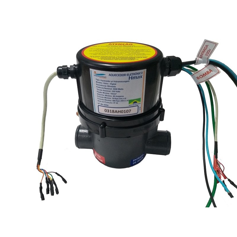 Aquecedor Elet. Hidroconfort / Get Banheiras 5000w/220v