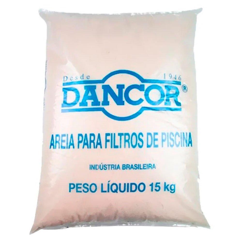 Areia DANCOR para filtro de piscina - 15kg