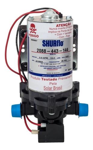 Bomba De Água Solar Flutuante de Diafragma Shurflo 2088 443 144 12v