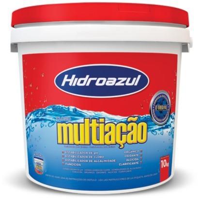 Cloro Multiação Hidroazul 10KG
