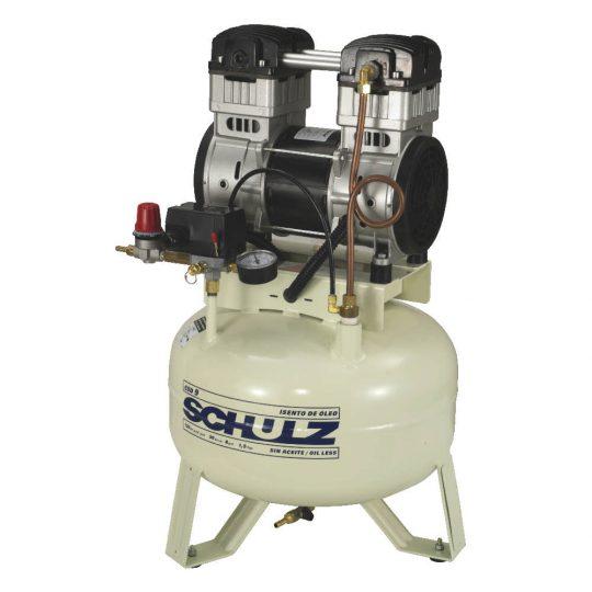 Compressor de Ar Odontológico Isento de Óleo CSD 9/30 - 9 PCM 30 litros - Monofásico