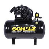 Compressor Schulz CSV 10 Pro 100 Litros 140 Libras 2 Cv Trifásico