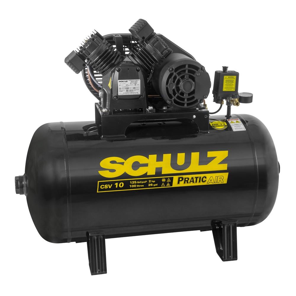 Compressores de Pistão SCHULZ Pratic Air CSV 10/100