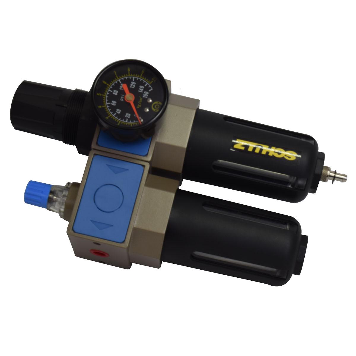 Conjunto Filtro Regulador Lubrificador de Ar 1/2 Pol 2600L Schulz