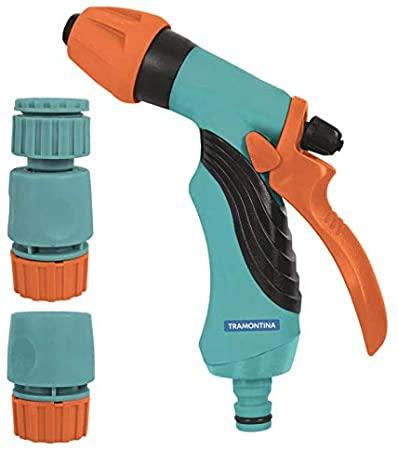 Conjunto para Irrigação com Engates Rápidos e Hidropistola - Tramontina