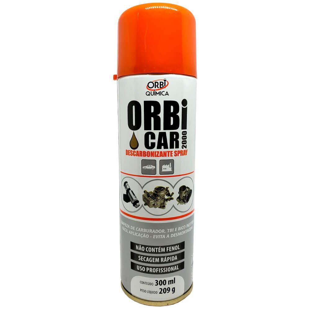 Descarbonizante em Spray Orbi Car 2000 300ml
