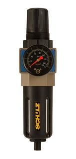Filtro Regulador de Ar 1/4 Pol. 2.080L/min - SCHULZ - FRL 2080
