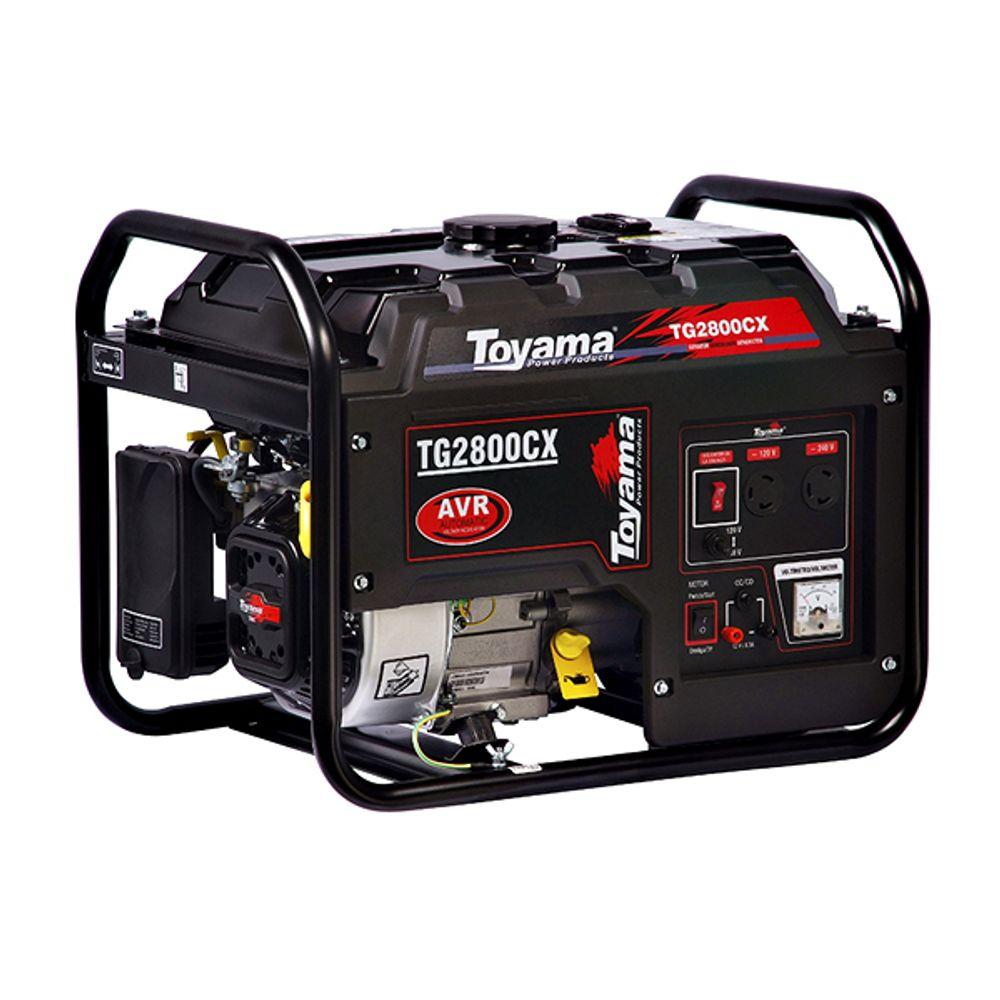 Gerador Gasolina 4 Tempos Bivolt 18 Litros Tg2800cx Toyama
