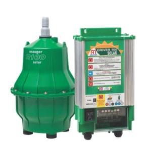 Kit bomba solar ANAUGER para cisterna e reservatório - R100