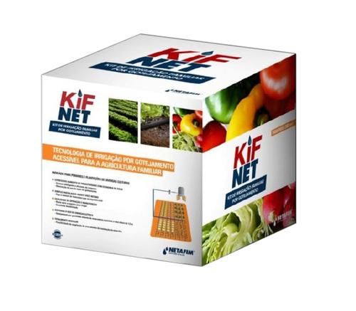 Kit Irrigação Sistema Gotejamento Familiar 500 M2 Netafim