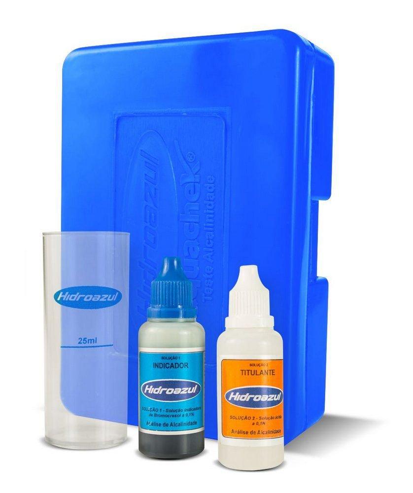 Kit Teste Alcalinidade  TOTAL Hidroazul