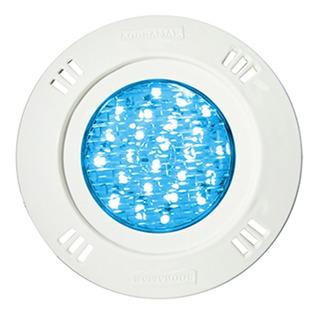 Luminária Led 9w Monocromático Azul p/ até 18m²