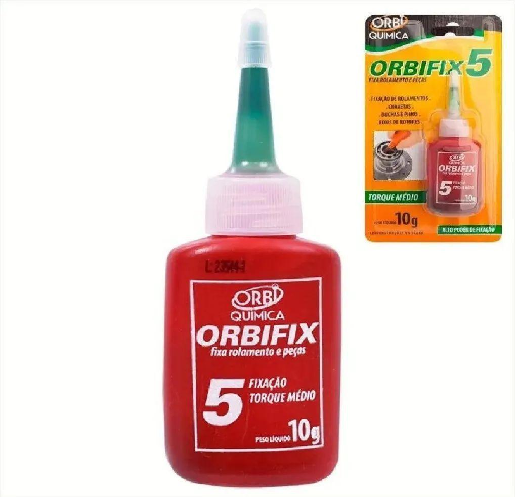 Orbifix 5 travas rolamento 10g verde orbi1870 orbi química
