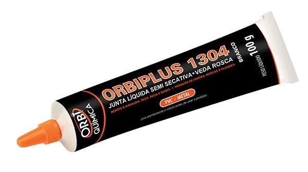 Orbiplus 1304 vedante líquido semi secativo branco bisnaga 100g ORBI