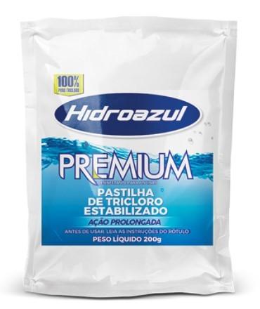 Pastilha Premium Tricloro Hidroazul 700g