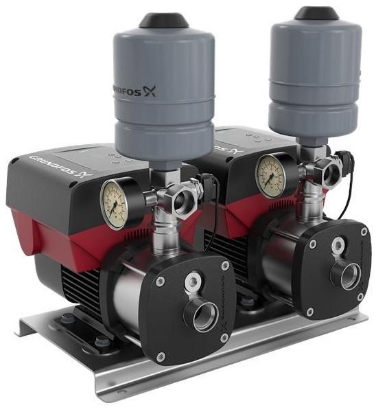 Sistema de Pressurização GRUNDFOS CMBE TWIN 2X
