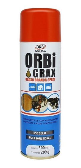 Spray Graxa Branca Orbi Grax 300ml