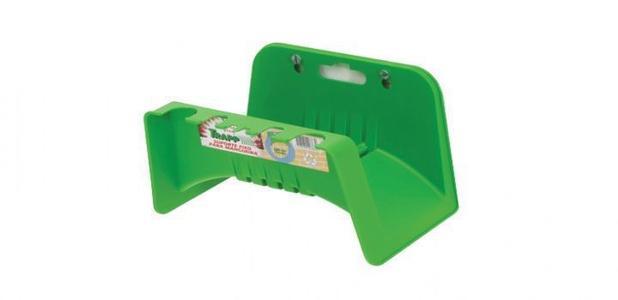 Suporte de mangueira plastico sm-30 para parede verde trapp