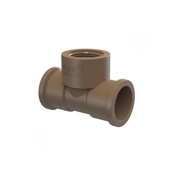 Te Soldável LR PVC 32mm x 3/4