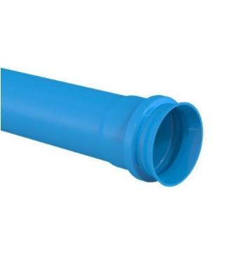 Tubo PVC IRRIGA LF JE TIGRE 6m - (Azul)