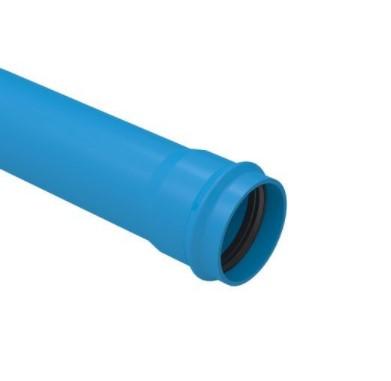Tubo PVC IRRIGA LF JEI DEFOFO TIGRE 6m - (Azul)