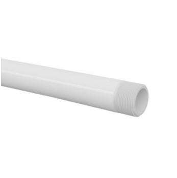 Tubo PVC Rosqueável TIGRE 6m - (Branco)