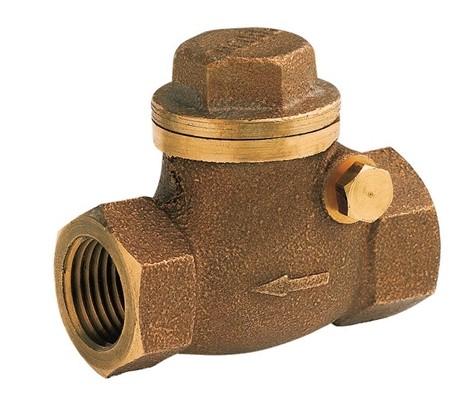 Válvula de Retenção Horizontal DOCOL Bronze