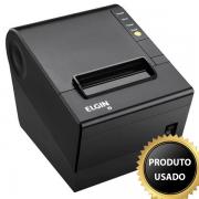 Impressa Térmica Elgin I9  USB / ETHERNET (rede) - Usada