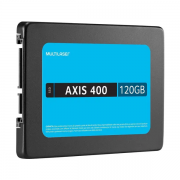 SSD 120GB 2,5 AXIS Multilaser Gravação 400 MB/S - SemiNovo