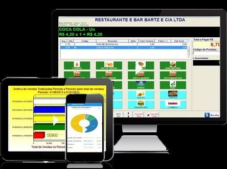 Bartz - Sagres  Sistema para Restaurantes